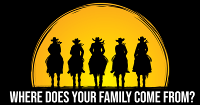 Where Does Your Family Come From?