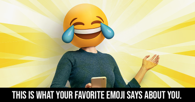 This is what your Favorite Emoji says about you.