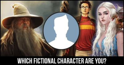 Which fictional character are you?