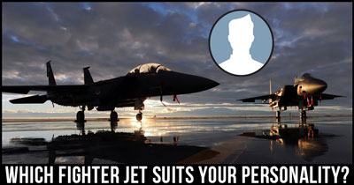 Which Fighter Jet suits your Personality?