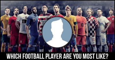 Which football player are you most like?