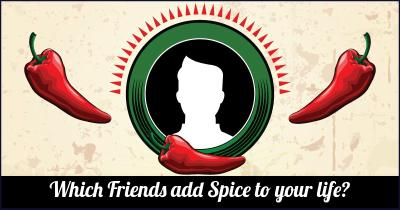 Which Friends add Spice to your life?
