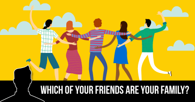 Which of your Friends are your Family?