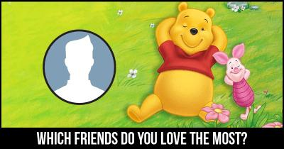 Which friends do you love the most?