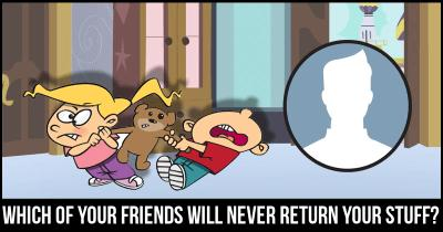 Which of your Friends will never return Your stuff?