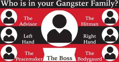 Who is in your gangster family?