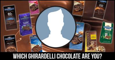 Which Ghirardelli Chocolate are you?