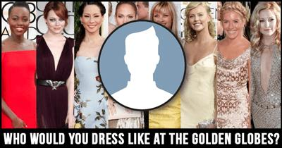 Who would you dress like at the Golden Globes?