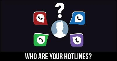 Who are your Hotlines?