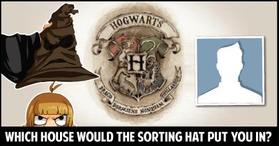Which House would the Sorting Hat put you in?