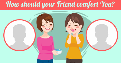 How should your Friend comfort You?