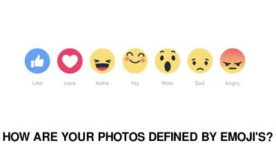 How are your photos defined by Emoji