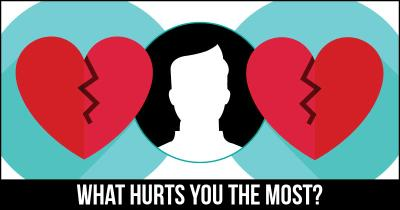 What Hurts you the Most?