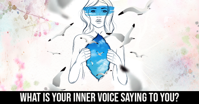 What is your Inner Voice Saying to You?