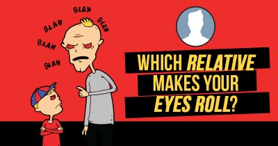 Which Relative makes your Eyes Roll?