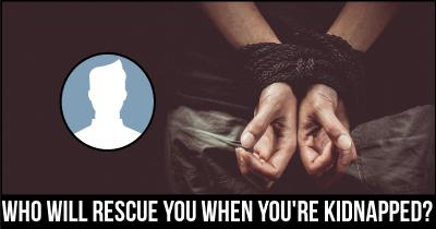 Who will rescue you when you