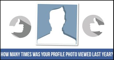 How many times was your Profile Photo viewed Last Year?