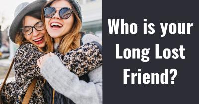 Who is your Long Lost Friend?