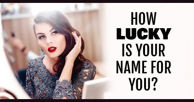 How Lucky is your Name for you?