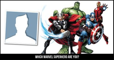 Which Marvel Superhero are you?