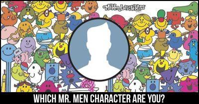 Which Mr. Men Character are you?