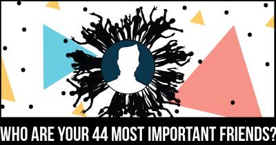 Who are your 44 most important Friends?