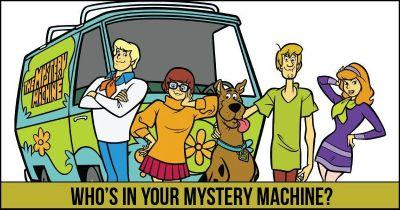 Who's in your Mystery Machine?
