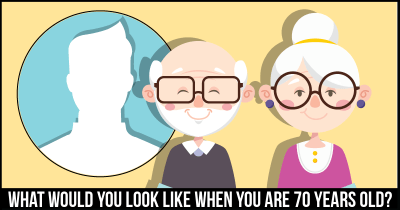 What would you Look like when you are 70 years Old?