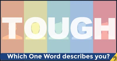 Which one word describes you?