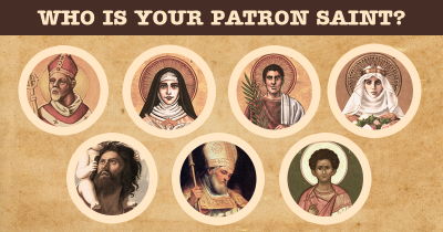 Who is your Patron Saint?