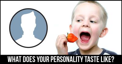 What does your Personality Taste like?