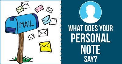 What Does Your Personal Note Say?