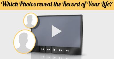 Which Photos reveal the Record of Your Life?