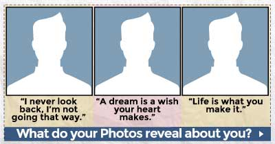 What do your Photos reveal about you?