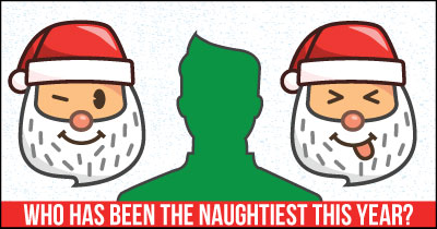 Who has been the Naughtiest this year?