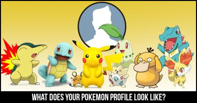 What Does your Pokemon Profile look like?