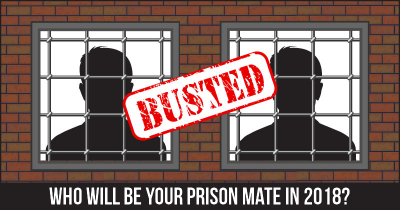 Who will be your Prison Mate in 2018?