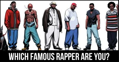 Which Famous Rapper are you?