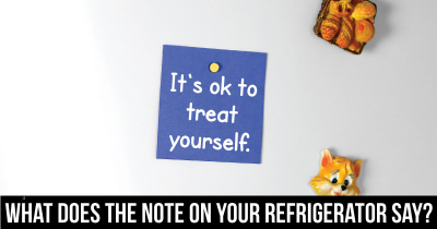 What does the Note on Your Refrigerator say?