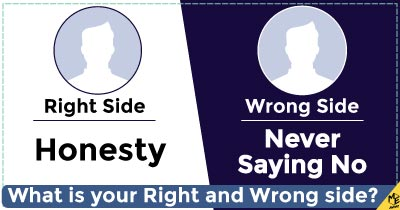 What is your Right and Wrong side?