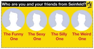 Who are you and your friends from Seinfeld?