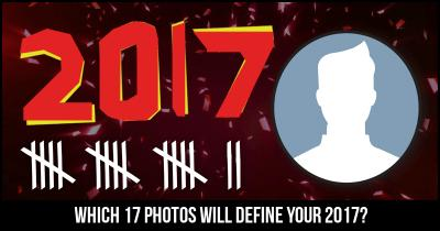 Which 17 Photos will Define your 2017?