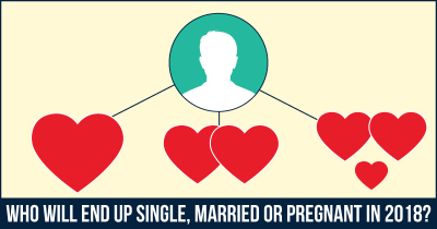Who Will End Up Single, Married Or Pregnant In 2018?