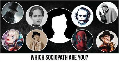 Which Sociopath are you?
