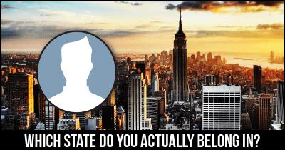 Which State do you actually belong in?