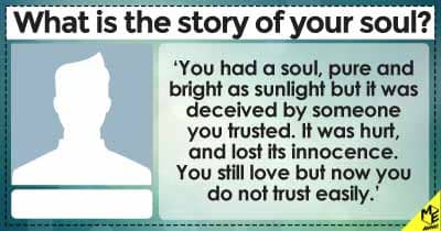 What is the story of your soul?