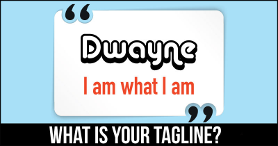 What is Your Tagline?