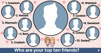Who are your Top 10 Friends?