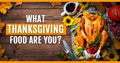 What thanksgiving food are you?