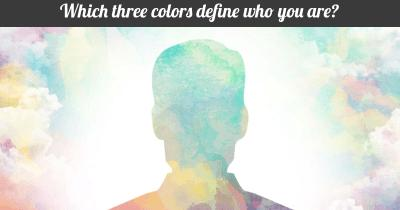 Which three colors define who you are?